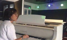 THỬ ÂM THANH GRAND PIANO TẠI PHÒNG THU - NS NGUYỄN QUANG